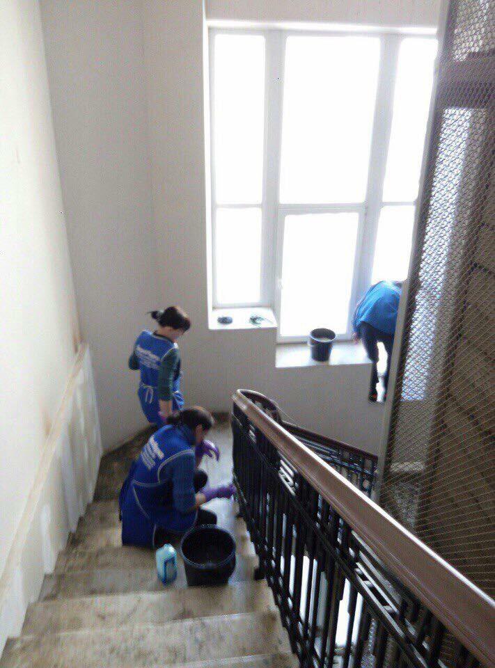 уборка парадных в Одессе