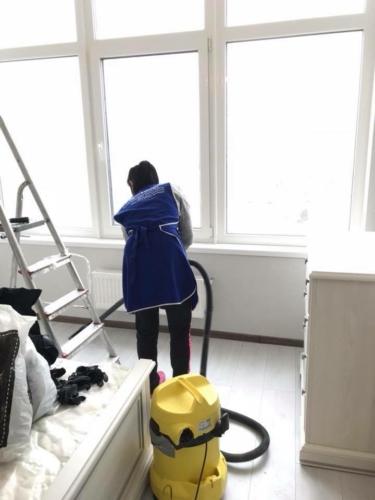 уборка после строителей